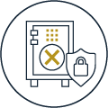 icon security safe